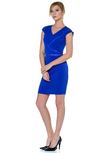 Asymmetry Elbise Saks